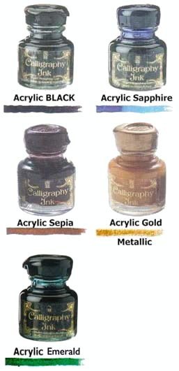 Manuscript Acrylic Ink 30ml bottle