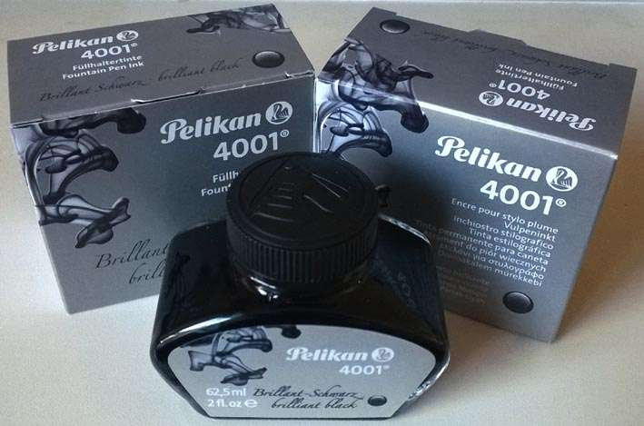 Pelikan 4001 Fountain Ink 60ml bottle